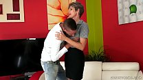 Mature Mom Lannie Rides A Young Dick