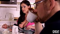 Screenshot Buxom babe A nissa Jolie craves his long hard co...