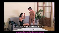 FemaleAgent Cums to command - 9Club.Top