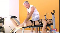 PervCity Teen Gianna Dior Fucks Her Much Older Trainer preview image