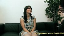 Kristi Love Has Her Perfect Natural Tits Jizzed On By Two Old Cops Preview