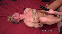 Rough bf anal fucked tied up girlfriend