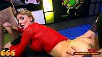 Gorgeous Elen Million getting fucked in the ass and the mouth at the same time - 666bukkake Preview