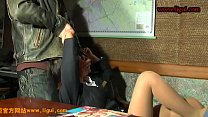 Ligui BDSM office lady hit unconscious in hotel and tied up