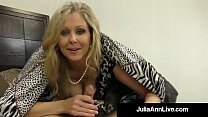 hiddencamsex » Hot Classy Milf Julia Ann Takes A Cock In Her Mouth &Amp; Hands!