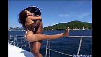 Hot Fuck For Asian Hotty on Yacht video