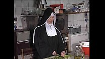 German Nun A ssfucked In Kitchen
