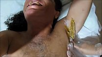 SHAVING THE BODY WITH HOT WAX TO RECORD PORNO WITH THE BRAND NEW NINFETTIS LICKING ME ALL