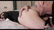 Petite tranny Jessica Fappit sucks and anal reamed by hubby Vorschaubild