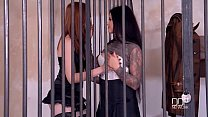 Two jailhouse Euro sluts Fuck one lucky stud. thumbnail