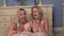 Two Milfs Share a Cock thumb