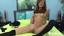 Ariel Rose Bounces Her Asian Bubble Butt On A Hard Dick