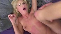 For this blonde it is not agony, she takes the cock first in the mouth, then the cunt and then anal .... and then sprayed from the top of his mouth .. Vorschaubild