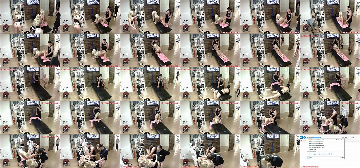 Working out those cocks gym style 预览图
