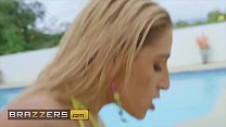 Big Wet Butts - (Abella Danger, Isiah Maxwell) - Poolside Booty - Brazzers Image
