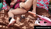 Thick Ladies Angelina Castro & Joslyn Jane Dicked By An Auto Cock?