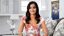 MYVERYFIRSTTIME First sex scene and facial for beautiful Emily Willis - 9Club.Top