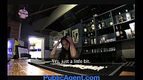 PublicAgent Sexy barmaid closes for sex thumbnail
