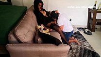 Carla Brasil face slapping and dominating a bottom.