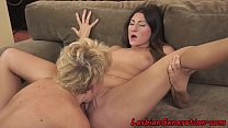 Hairy granny pussylicking busty lesbian />                             <span class=