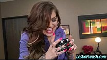Hot Lez Girl Get Punish With Toys By Mean Lesbo vid-26 image