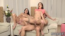 Hairy teen arm pits first time Mom's two compeer's daughters getting