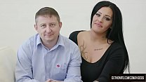 Swinger slut Ashley Cumstar fucked in front of ... Thumbnail