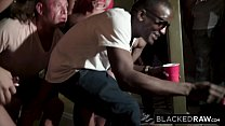 BLACKEDRAW Four College Girls In INSANE BBC Gangbang Preview