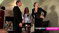 UK lesbian office girls caught fucking share bi...