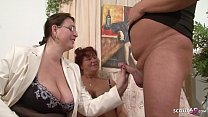Neigbour Teach German Mature Couple with Problems at Sex
