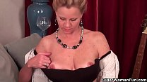 Blonde milfs Shelby and Amanda peel off their p... Thumbnail