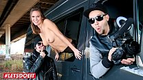 LETSDOEIT - German Teen Luisa W. Is In For A Hot Ride On The Bang Bus