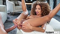 TUSHY Diva Cecilia has her manager satisfy her ...