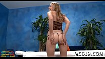 Hottie with taut round ass smashed hard in a massage room's Thumb