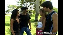 Desi Teen Babes In Group Sex porn thumbnail