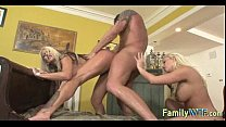 Mom And Daughter Threesome 0985  - 15
