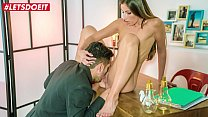 LETSDOEIT - Hot Brunette Clea Gaultier Gets What She Wants From This Guy