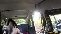 15427 Slutty brunette Emma gets ass fucked by the drivers big dick preview