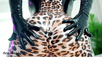 Latex Rubber Catsuit Fetish Clothes Arya Grander