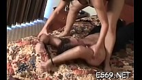 Sweet girl gets drilled through