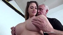 Cathy Heaven fucking with Grandad Ben Dover thumb