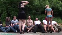 brutal german anal swinger party orgy's Thumb