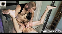 Skinny Twink Step Son Sex With Step Dad After W