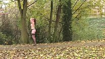 Uk Housewife Flashing with Holly in redhead public nudity Preview