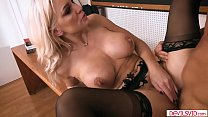 Busty teacher analed by her supervisor preview image