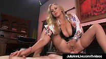 Boy Toy Gets Moterboated By Busty Milf Julia An...