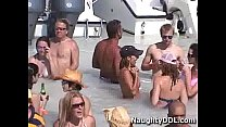 Hot chicks spring break on a boat video