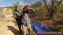Laura captured  cop Oficer of patrol agrees to atrol agrees to help redhaired s