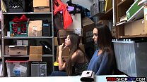 Sofia Rose Videos - duo teen shoplifters caught and fucked by a security guard thumbnail