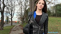 Public Agent Amirah Adara Fucks a stranger while her BF waits preview image